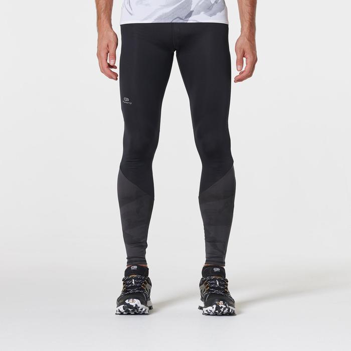 Men's Trail Running Tights - Black/Grey
