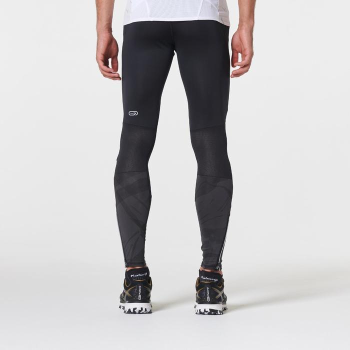 Hardloopbroek voor traillopen zwart grijs heren