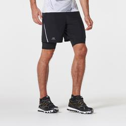 Men's Comfort Trail Running Baggy Shorts - black