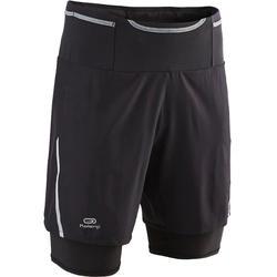 Men's Comfort Trail Running Baggy Shorts - black