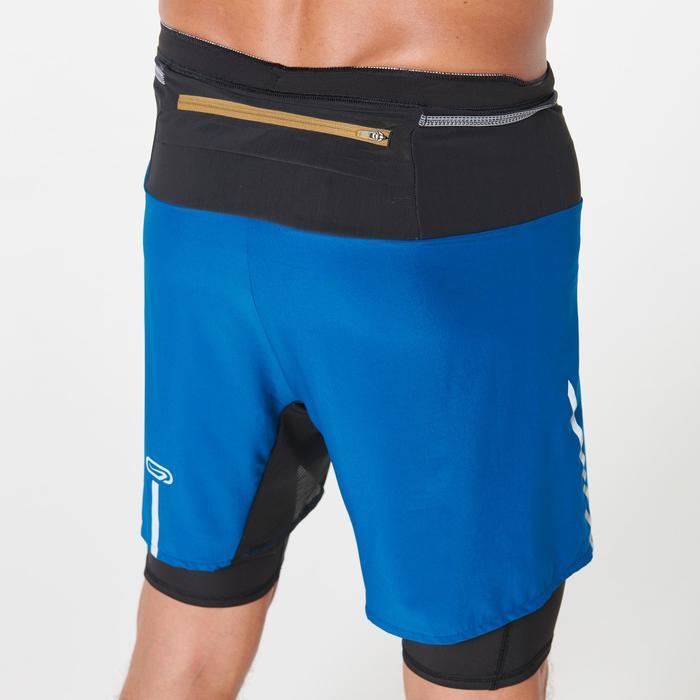 Baggy trailshort Comfort heren blauw
