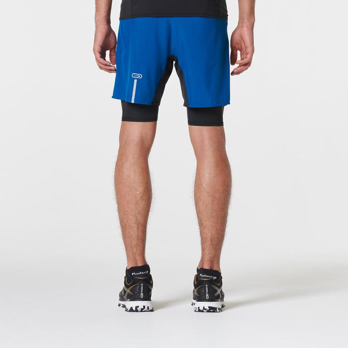 Men's Comfort Trail Running Baggy Shorts - blue