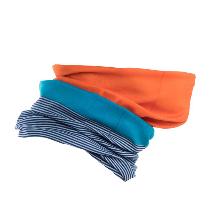 Nekwarmer fiets Roadr 100 blauw/oranje