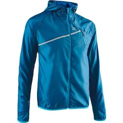 Chaqueta Cortaviento Trail Running Hombre Azul