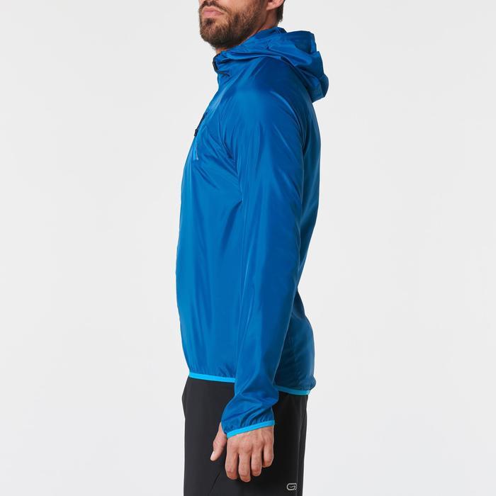 Windjack voor traillopen heren blauw
