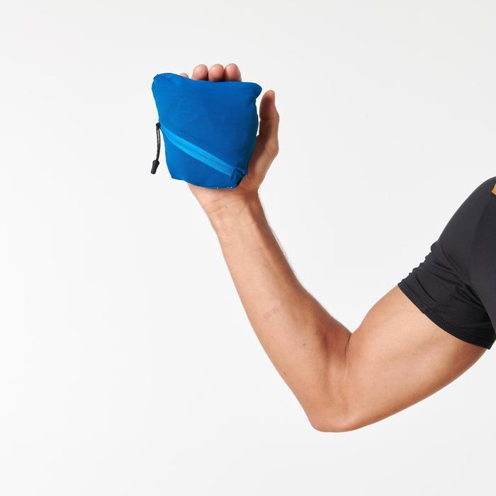 男款越野跑步防風外套 - 藍色