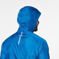 Laufjacke winddicht Trail Herren blau