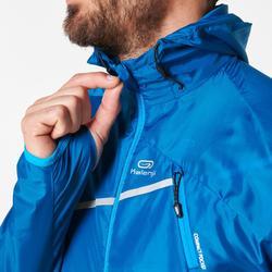 Lauf-Windjacke Trail Herren blau