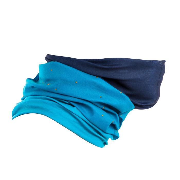 自行車運動脖圍RoadR 100 - 藍色