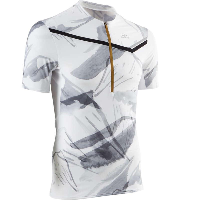 ABBIGLIAMENTO TRAIL UOMO Running, Trail, Atletica - T-shirt trail uomo PERF bianca EVADICT - Running, Trail, Atletica