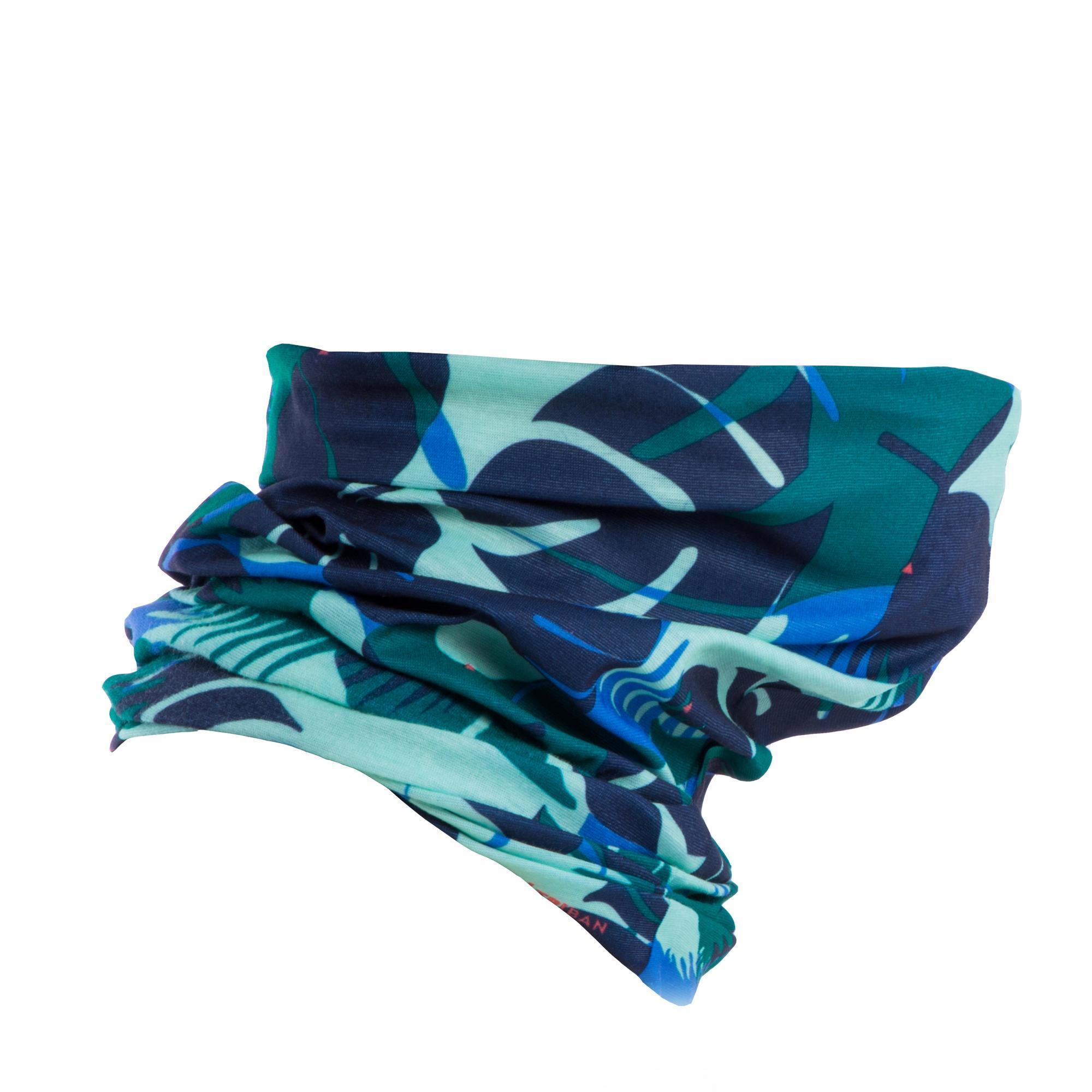 Schlauchtuch Rennrad RR 100 blau/grün | Accessoires > Schals & Tücher > Tücher | Blau - Grün | B´twin
