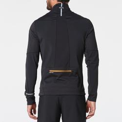 Softshell jack met lange mouwen traillopen zwart brons heren