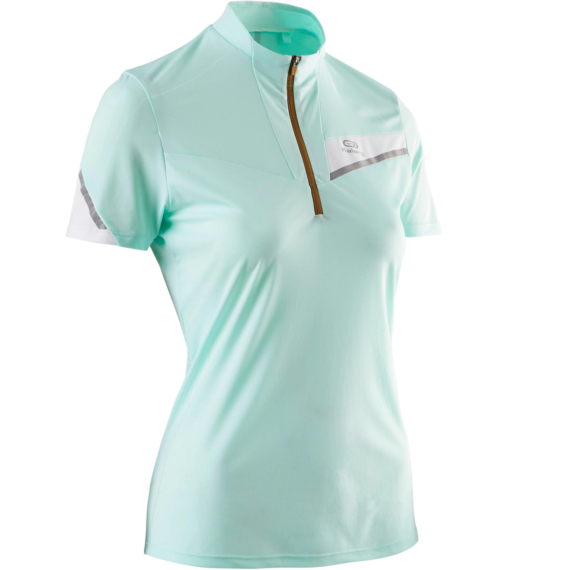 wholesale dealer 19f67 c68a3 Para Pastel Trail Manga Menta Camiseta Running Corta Mujer De Verde qXnwp