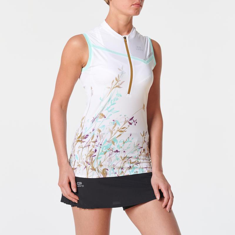 เสื้อกล้ามใส่วิ่งเทรลสำหรับผู้หญิงรุ่น Perf (สีเขียวมิ้นต์พาสเทล)