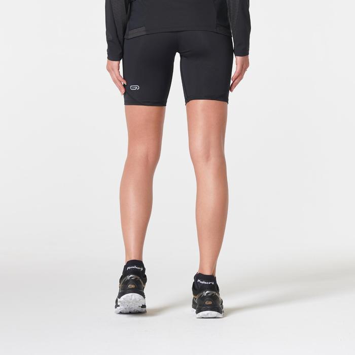 Laufshorts Tights kurz Trail Damen schwarz