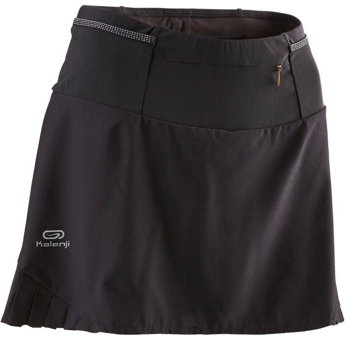 Nuevos objetos elige el más nuevo vendible Falda-pantalón trail running mujer negro