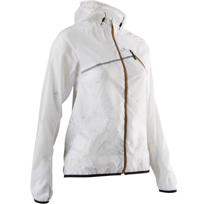 Women's Windproof Trail Running Jacket - White