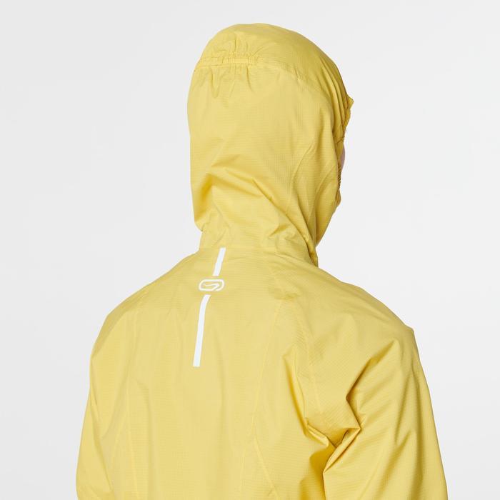 Regenjacke wasserundurchlässig Trail Damen gelb/ocker