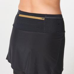 Women's Comfort Trail Running Skorts - black