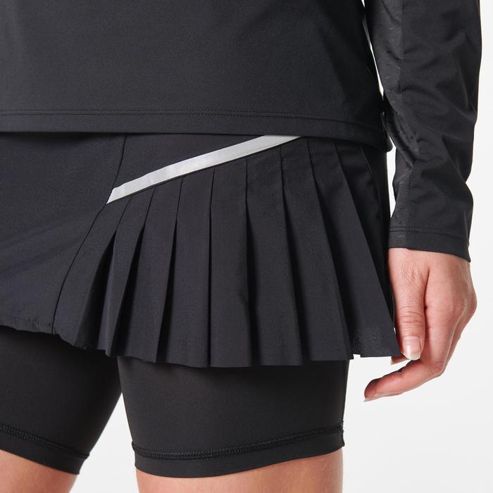 Jupe cuissard trail running femme noir