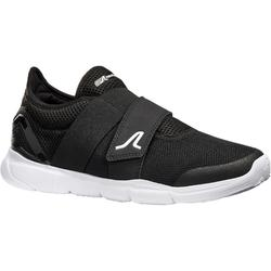 Zapatillas Caminar Soft 180 Strap Mujer Negro/Blanco