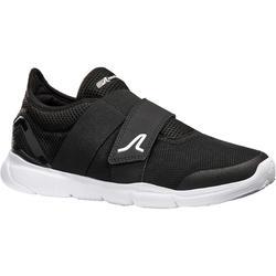 Zapatillas de marcha deportiva para mujer Soft 180 Strap negro/blanco