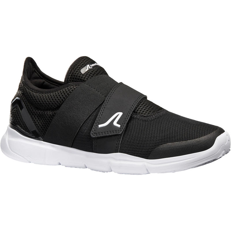 Walking Shoes for Women Soft 180 Strap - Black/White