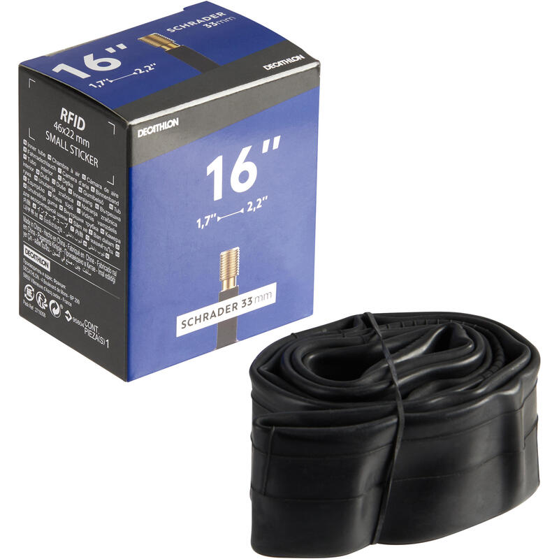 16_QUOTE_ 1.70 to 2.20 Schrader Valve Inner Tube