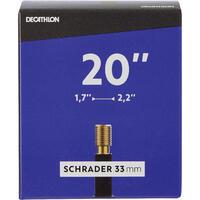 20x1.7-2.2 Bike Inner Tube - Schrader