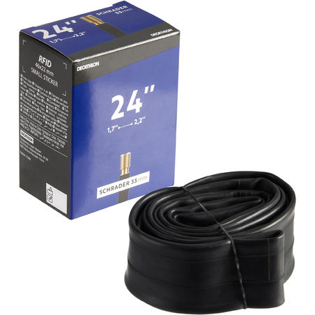 24x1.7-2.2 Bike Inner Tube - Schrader