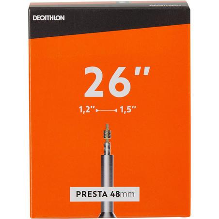 26x1.2-1.5 Bike Inner Tube - Presta