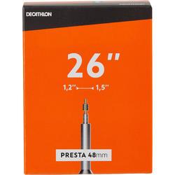 Binnenband 26x1/2/1.5 Presta-ventiel 48 mm
