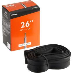 26x1.2-1.5 Inner Tube - 48 mm Presta Valve
