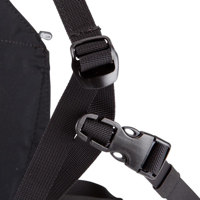 Laufrucksack 2 Positions Bag Erwachsene schwarz