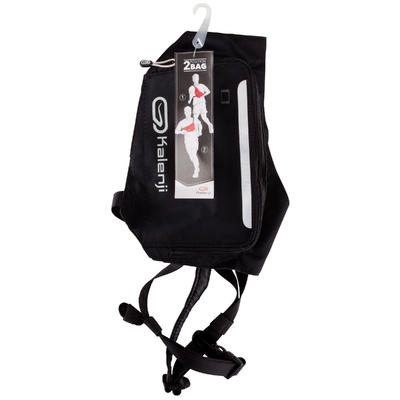 2 POSITION RUNNING BAG - BLACK