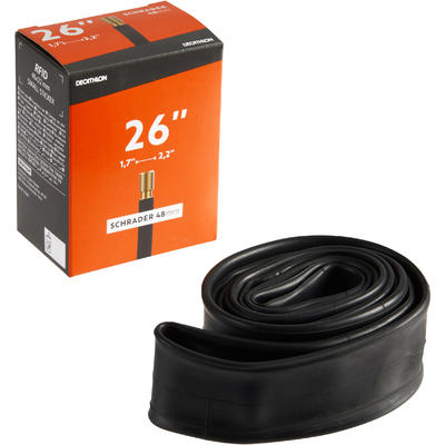 26x1.7-2.2 Bike Inner Tube - Schrader