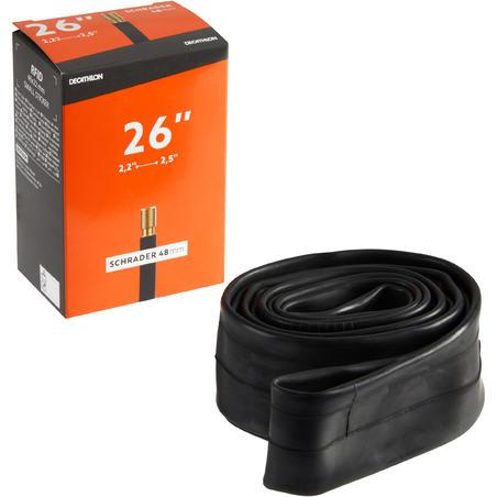Inner Tube 26x2.2/2.5 Schrader Valve 48mm