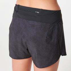 KIPRUN LIGHT WOMEN'S LIGHTWEIGHT RUNNING SHORTS - BLACK