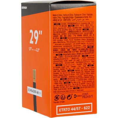 CHAMBRE A AIR 29x1.7/2.2 VALVE SCHRADER 48MM