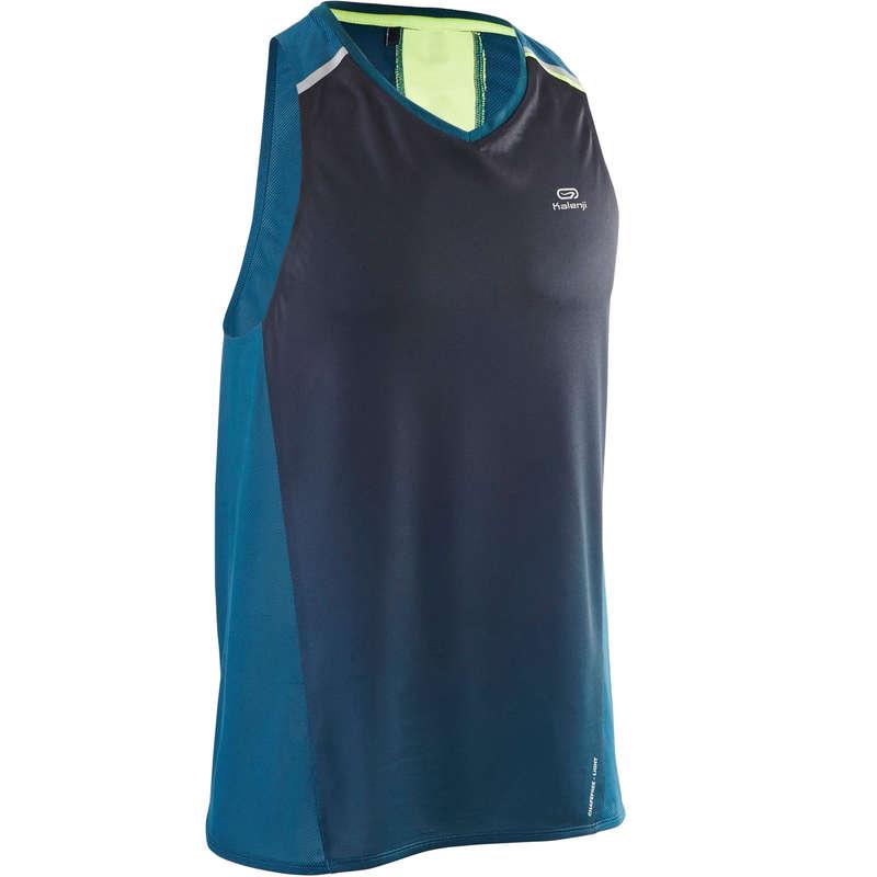 ODZIEŻ MESKA ODDYCHAJĄCA DO BIEGANIA INTENSYWNEGO Bieganie - Koszulka KIPRUN LIGHT KIPRUN - Odzież do biegania