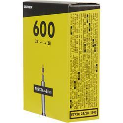 CHAMBRE A AIR 600x23/28 PRESTA VALVE 48MM