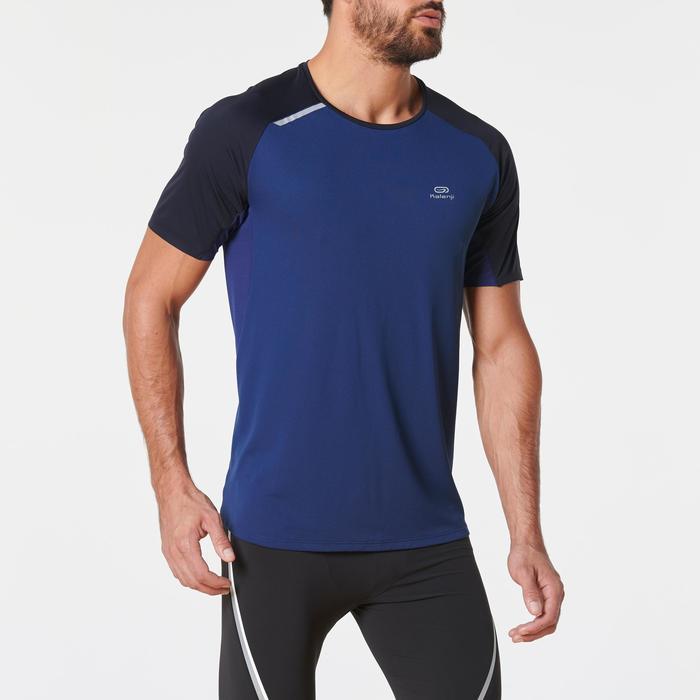 Camiseta Manga Corta Running Kalenji Kiprun Light Hombre Azul