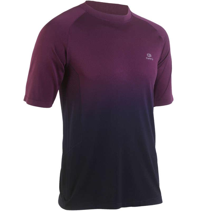 MAN WARM/MILD WEATHER RUNNING CLOTHES Clothing - KIPRUN CARE MEN'S T-SHIRT KALENJI - Tops