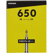 650x18/25 Inner Tube - Presta