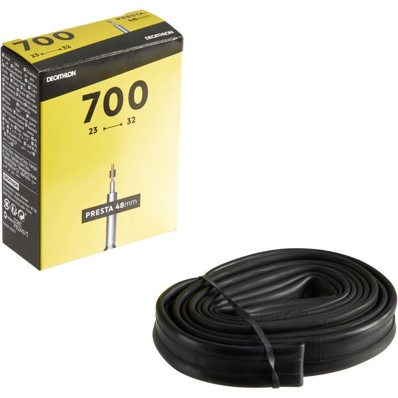 700x23/32 48 mm Presta Valve Inner Tube