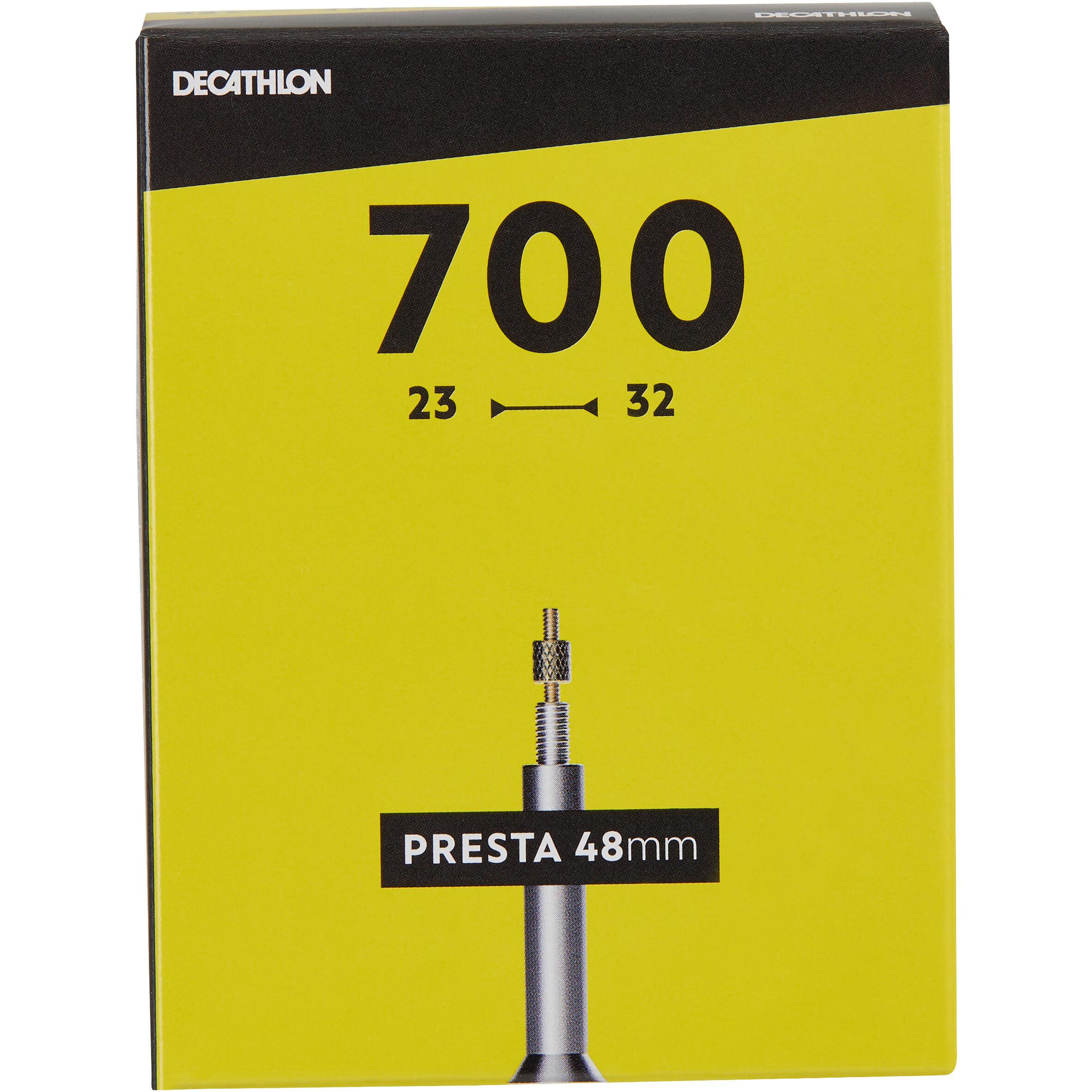 B 39 twin binnenband 700x23 32 prestaventiel 48 mm - Chambre a air velo route 700x23 ...