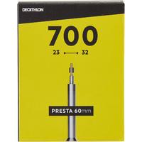 """700 x 23–32 kamera su 60 mm """"Presta"""" ventiliu"""