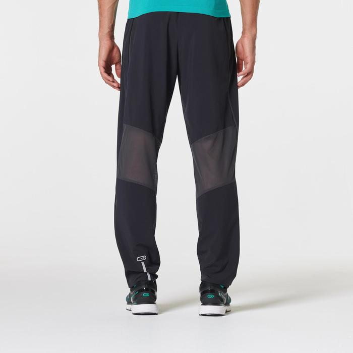 KIPRUN MEN'S BREATHABLE RUNNING TROUSERS - BLACK