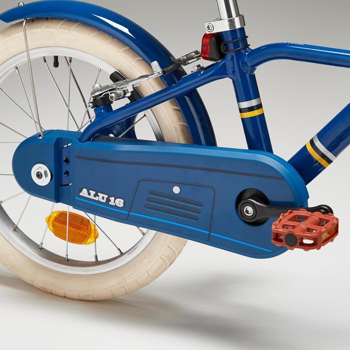 Fiets 16 inch 4,5-6 jaar 900 alu city blauw