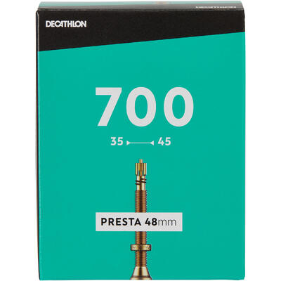 Камера 700x35/45 з ніпелем Presta 48 мм